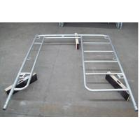 Welded Light Duty H Frame Scaffolding System Door Walk Through Type