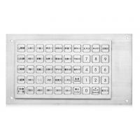 Best Multikeys Dustproof Metal Panel Mount Keypad For Industrial , Vending Machine Keypad wholesale