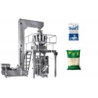 Quality High Accuracy Salt Packaging Machine Less Pulling Resistance Easily Maintain for sale