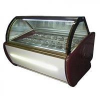 Quality Fan Cooling Ice Cream Freezer Case -16~-22℃ With Digital Temp Controller and 2000mm Length for sale