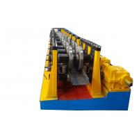 China U Channel Light Keel Stud And Track Roll Forming Machine With Chain Transmission System on sale