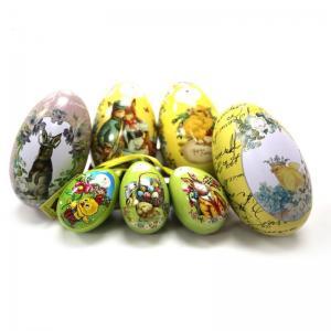 Quality Wholesale Unique Easter Egg Tin Box for sale