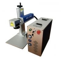 Quality 20w Handheld Laser Marking Machine 7000mm/S Air Cooling 1064nm Laser Wave for sale