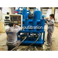 Buy Vacuum Insulation Oil Recycling plant, degassing, Dehydration ,Oil Purification at wholesale prices