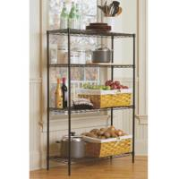 """Quality Small Item Home Storage Organizer Wire Shelving 4 Layer 36"""" W X 14"""" D X 54"""" H for sale"""
