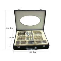 Best 72pcs cutlery set with wooden box wholesale