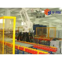 Quality High Speed Automatic Palletizing System , ABB / Kuka Robot Premier Tech Palletizer for sale
