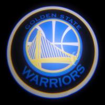 3W car led door projector lights with all NBA team logo Car welcome door lamp