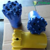 Tungsten Carbide Thread Rock Drill Button Bits for Mining / Quarrying / Tunneling