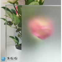 Quality Custom Excellence quality acid etched frosted glass for sale