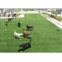 Quality Durable Custom Outdoor Artificial Grass For Pets , Dog Friendly Artificial Turf for sale