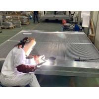 Quality 2.3 Meters long Big Engine Aluminum Oil to Air Heat Exchanger for Cummins for sale