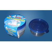 Buy cheap Round Plastic Disposal Food Container (R-26245) from wholesalers