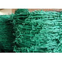 Quality Normal Twist / Reverse Twist Barbed Wire Fence 450mm - 960mm Diameter For Prisons for sale