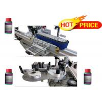 Quality Automatic stick self adhesive bottle round bottle labeling machine for factory for sale