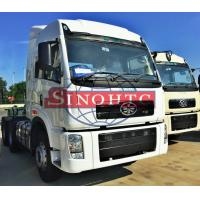 Quality 60 Ton FAW Tractor Head Trucks 6X4 Driving Type J5P High Cabin ISO9001 Standard for sale