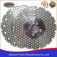Quality Double Side Dots Electroplated Diamond Tools For Marble / Granite Cutting for sale