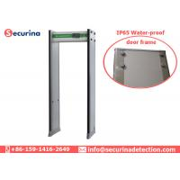 Quality Archway Walk Through Metal Detector Gate Full Body Scanning with LCD Screen for sale