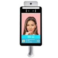 Quality IP65 IPS HD Display Face Recognition Temperature Scanning Device for sale