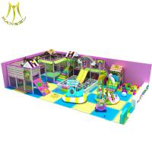 China Hansel children park item playground equipment zip line playground equipment baby indoor soft play equipment on sale
