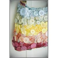 Quality paper button bag for sale
