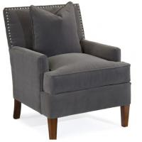 Quality Romantic Fabric Hotel Furniture Set Chair With Wood Legs Hospitality Style for sale