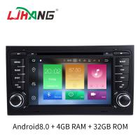 Quality Multi Language SD FM MP4 Audi Car DVD Player 32 GB Mirror Link Supported for sale