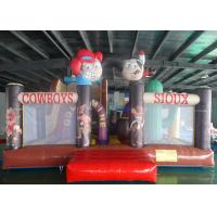 China Kids Big Outdoor Clown Inflatable Bouncer Combo Jumping Castle CC-IFCB1010 on sale