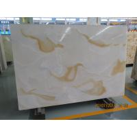 Quality White Quartz Solid Stone Countertops / Solid Surface Kitchen Countertops for sale