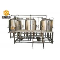 Quality Stainless Steel 3 Vessles 500L Mini Brewery With 8 Fermentation Tanks for sale