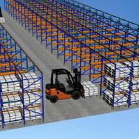 Quality convenient disassembly stacking frame racks for warehouse storage for sale