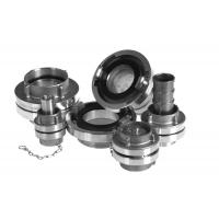 Quality Storz Fire Hose Coupling Fittings Aluminium Material With Hose Tail / Spool Adapters for sale