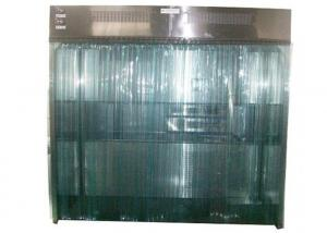 Quality SS 304 Sheets Dispensing Booth With PVC Curtain Door HEPA Filter for sale