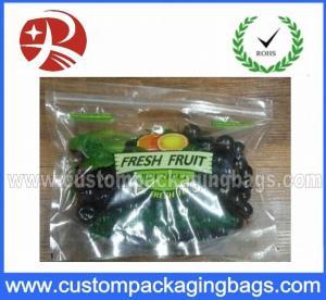 Buy cheap Plastic Custom Printed Ziplock Bag Eco-friendly , biodegradable from wholesalers