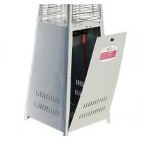 Quality Standing Vertical Flame Patio Heater 2330mm Total Height Environmental Friendly for sale