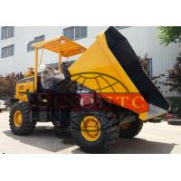 Quality 5 Ton Light Duty Dump Trucks 4WD Wheel Site Dumper Truck With Detuz Engine for sale