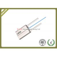 Indoor FTTH Fiber Optic Cable / FTTH Drop Cable With FRP Strength Member