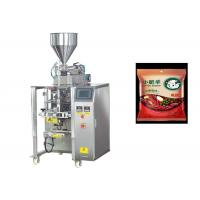 Quality Auto Sauce Liquid Pouch Filling Equipment Easy Maintenance High Precise for sale