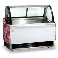 Quality Low Noise Fan Forced Ventilation Gelato Showcase, Energy Saving Commercial Chest Freezer with 2000mm Length for sale