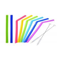 Buy Eco Friendly Silicone Drinking Straw , Bpa Free Reusable Straws ROSH Approval at wholesale prices