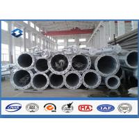Quality HDG Electrical Tubular Steel Pole High strength low alloy structural steels for sale