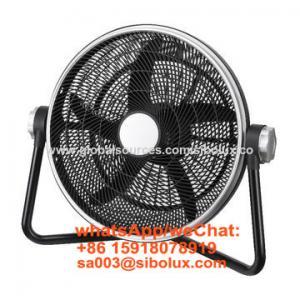 "Quality 20 inch electric high velocity floor fan with 3 speeds/20"" oscillating fan/Ventilador de piso de alta velocidad for sale"