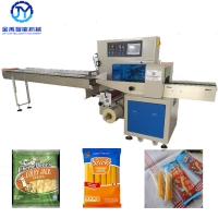 Quality Cheese Stick OPP/CPP Film 2.8Kw Snack Packing Machine for sale