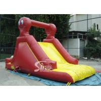 China Indoor small octopus kids inflatable slide made of lead free pvc tarpaulin for parties on sale