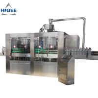 Quality water bottle filling machine PET bottle mineral pure liquid water bottling machine automatic water filling machine 18-18 for sale