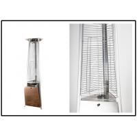 Quality Fire Sense Stainless Steel Pyramid Flame Patio Heater For Any Outdoor Gathering for sale