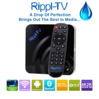 China Rippl-TV Newest Products 2015 Amlogic S802 Quad Core XBMC Android OTT TV Box Streaming Media Player on sale