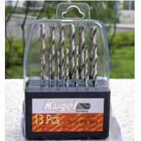 Quality 13 pcs HSS Metal Drill Bit Set WITH TIN for sale