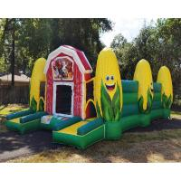 China Fall Event Inflatable Sports Games / Inflatable Corn Maze Obstacle Course on sale