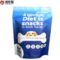 Quality Any Thickness Plastic Stand Up Pouches Heat Seal Sied Gusset Bag For Pet Food for sale